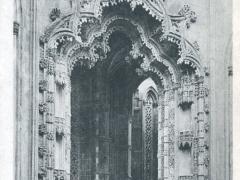Batalha Portico interior das Capelas imperfeitas