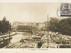 La Sarre a Sarrebruck