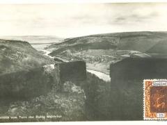 Saar Ausblick vom Turm der Ruine Montclair