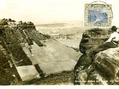 Saar Blick vom Altfels auf Castel und Serrig
