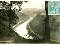 Saar das Saartal bei Mettlach