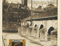 Saarbrücken alte Brücke mit Schlosskirche