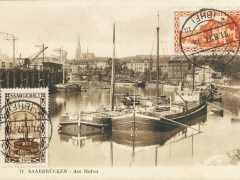 Saarbrücken am Hafen