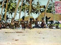 Apia Samoa Eingeborene