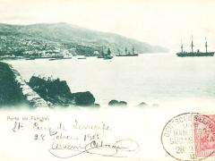 Seepost Hamburg Südamerika II Porto do Funchal