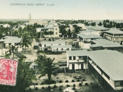 Seepost Hamburg Westafrika Togo Lome Ansicht Seepoststempel