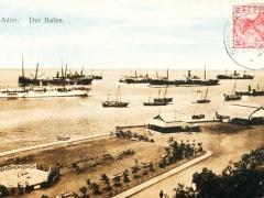 Seepost ostasiatische Hauptlinie c Aden Hafen