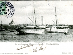 Constantinople Le stationnaise Allemand Loreley