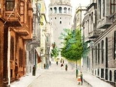 Constantinople Tour de Galata