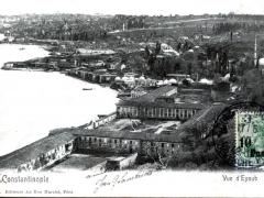 Constantinople Vue d'Eyoub