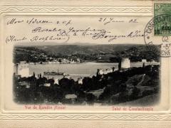 Constantinople Vue de Rumelie Hissar