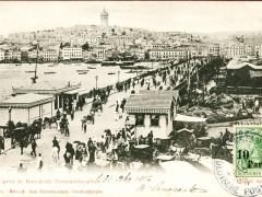 Constantinopel le Pont de Karakeuy