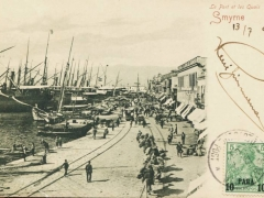Smyrna Le Port et les Quais