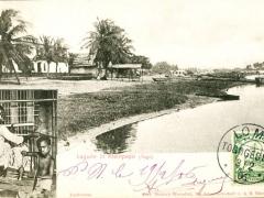 Lagune in Kleinpopo Tuchweber