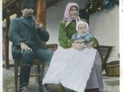 Bauernfamilie in Debreczen