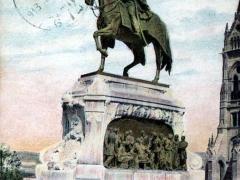 Budapest Andrassy szobor Andrassy Denkmal