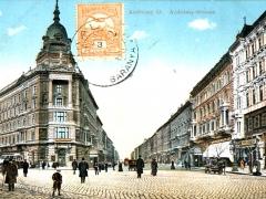 Budapest Andrassy ut Andrassy Strasse
