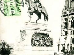 Budapest Andrassydenkmal