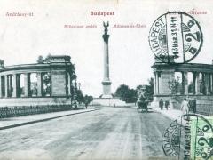 Budapest Anrassy ut Milleniumi emlek