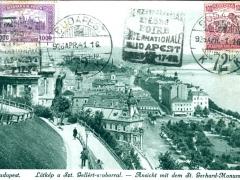 Budapest Ansicht mit dem St Gerhard Monument