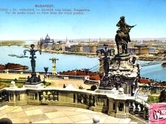 Budapest Aussicht vom königl Burggarten