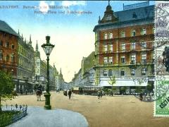 Budapest Baross Platz und Rakochistrasse