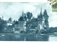 Budapest Burg Vajdahunyad im Stadtwäldchen