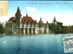 Budapest Burg von Vajda Hunyad