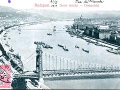 Budapest Duna reszlet Donaubild