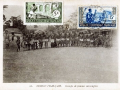 Groupe de femmes missangbas