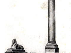 Alexandria Column of Khartoum and Sphinx