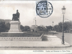 Alexandria Garden and Monument to Nubar Pacha