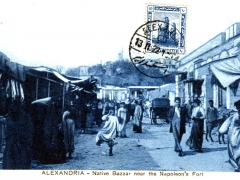 Alexandria Native Bazaar near the Napoleon's Fort