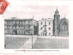 Alexandrie-Eglise-protestante-Allemande-Francaise-St-Andreas
