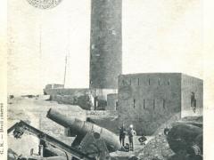 Alexandrie Le Phare apres le bombardement