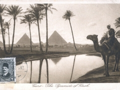 Cairo The Pyramids of Gizeh