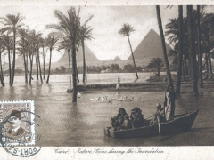 Cairo native Scene during the Inundation