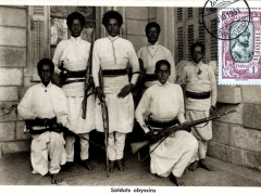 Soldats abyssins