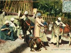 Le Caire Aniers et baudets