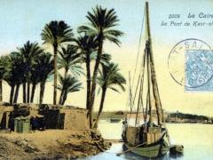 Le Caire Le Pont de Kasr el Nil