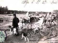 Ain Sefra L'Oued par une crue
