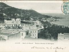 Alger Bab el Oued Notre Dame d'Afrique