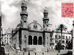 Alger Cathedrale et Palais d'Hiver du Gouverneur