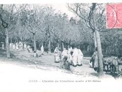 Alger Chemin du Cimetiere arabe d'El-Ketar