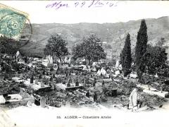 Alger Cimetiere Arabe
