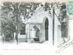 Alger-Cour-de-la-Mosquee-El-Kebir