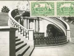 Alger Escalier monumental du Parc de Galland