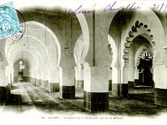 Alger-Interieur-de-la-Mosquee-rue-de-la-Marine