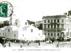 Alger-La-Mosquee-El-Djedid-et-le-Palais-Consulaire