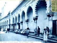 Alger-La-grande-Mosquee-Rue-de-la-Marine